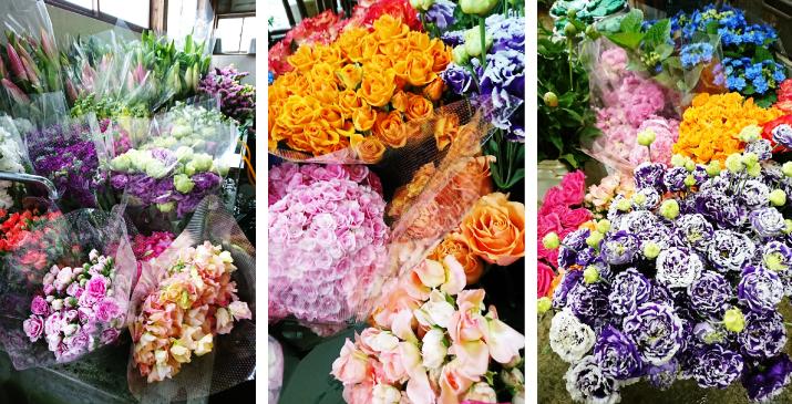 お見送りを彩る花祭壇